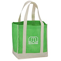 View a larger, more detailed picture of the Two-Tone Shopper Tote