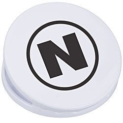 View a larger, more detailed picture of the Round Magnet Clip - Opaque