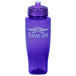 View a larger, more detailed picture of the PolySure Twister Bottle - 32 oz - Translucent