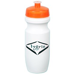 View a larger, more detailed picture of the Move-It Bike Bottle - 20 oz - White