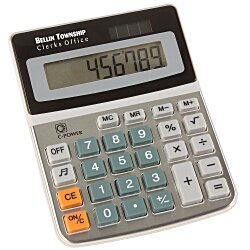 View a larger, more detailed picture of the Easy Desk Calculator