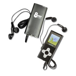 View a larger, more detailed picture of the Mack MP3 Player - 1GB - 24 hr