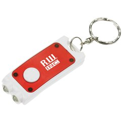View a larger, more detailed picture of the Double Lighted Keychain