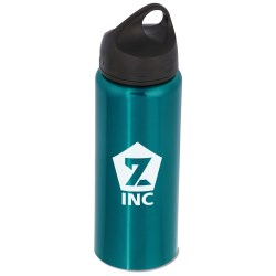 View a larger, more detailed picture of the Stainless Steel Wide Mouth Bottle - 25 oz