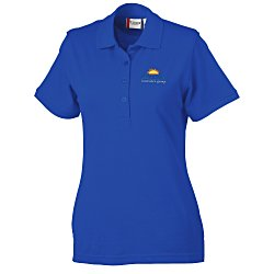 View a larger, more detailed picture of the Clique Evans Easy Care Polo - Ladies