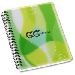 View a larger, more detailed picture of the Contempo Mod Print Notebook w Ruler & Book Mark