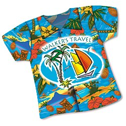 View a larger, more detailed picture of the Shirt Mouse Pad - Hawaiian
