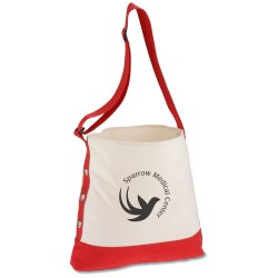 View a larger, more detailed picture of the Cotton Grommet Sport Tote - 24 hr