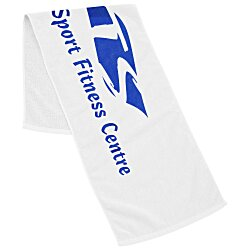 View a larger, more detailed picture of the Fitness Towel w CleenFreek - White