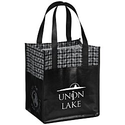 View a larger, more detailed picture of the Laminated Big Grocery Bag - 24 hr