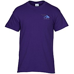 View a larger, more detailed picture of the Gildan 5 3 oz Cotton T-Shirt Men s - Emb - Colors