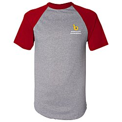 View a larger, more detailed picture of the Augusta Sportswear Baseball Jersey - Emb - Colors