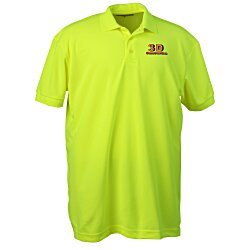 View a larger, more detailed picture of the Blue Generation High Visibility Pique Polo - Men s