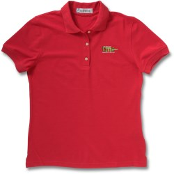 View a larger, more detailed picture of the Extreme Pique Polo w Teflon - Ladies