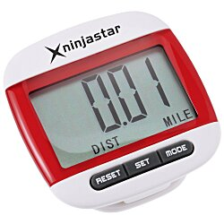 View a larger, more detailed picture of the Widescreen Walker Pedometer