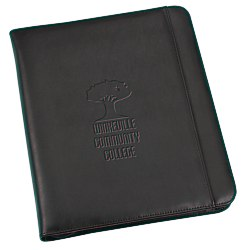 View a larger, more detailed picture of the Wall Street Ring Binder Portfolio - Debossed