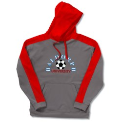 View a larger, more detailed picture of the J America Moisture Wicking Sweatshirt - Applique Felt