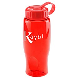 View a larger, more detailed picture of the Comfort Grip Sport Bottle - 27 oz - Tethered Lid