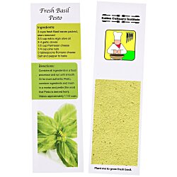 View a larger, more detailed picture of the Recipe Bookmarks - Basil