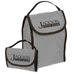View a larger, more detailed picture of the Fold-Up Lunch Bag Cooler - 24 hr