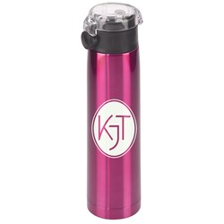 View a larger, more detailed picture of the h2go Aspen Vacuum Stainless Sport Bottle - 24 oz