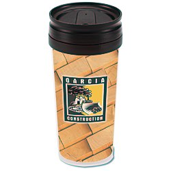 View a larger, more detailed picture of the Full Color Travel Tumbler - 16 oz 