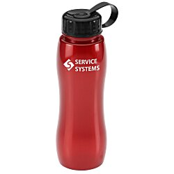 View a larger, more detailed picture of the ShimmerZ Slim Grip Bottle - 25 oz - Metallic
