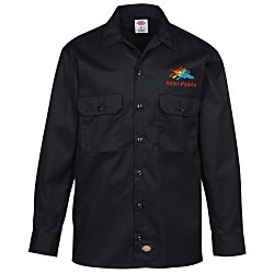 View a larger, more detailed picture of the Dickies 5 2 oz Long Sleeve Work Shirt