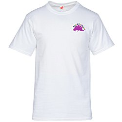 View a larger, more detailed picture of the Hanes ComfortSoft Tee - Men s - Embroidered - White
