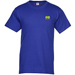 View a larger, more detailed picture of the Hanes ComfortSoft Tee - Men s - Embroidered - Colors