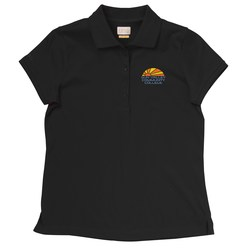 View a larger, more detailed picture of the IZOD Pima Cool Polo - Ladies