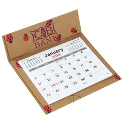 View a larger, more detailed picture of the V Natural 3 month Jumbo Pop-up Calendar - Lady Bugs