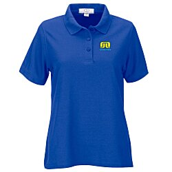 View a larger, more detailed picture of the Soft-Blend Double-Tuck Polo - Ladies