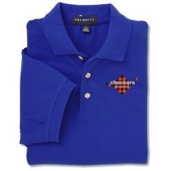 View a larger, more detailed picture of the Velocity Repel & Release Pique Polo - Men s