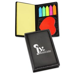 View a larger, more detailed picture of the Adhesive Notes with Die Cut Shape - Heart