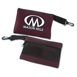 View a larger, more detailed picture of the Mesh-Back Travel Bag - 5 x 6-1 2