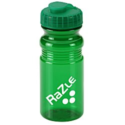 View a larger, more detailed picture of the Flip Top Translucent Bottle - 20 oz