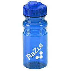 View a larger, more detailed picture of the Flip Top Translucent Bottle - 20 oz - 24 hr