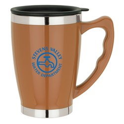 View a larger, more detailed picture of the Anton Travel Mug - 14 oz - Closeout