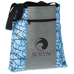 View a larger, more detailed picture of the Paint Splatter Tote