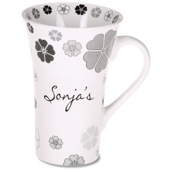 View a larger, more detailed picture of the Manhattan Design Mug - 12 oz - Flower
