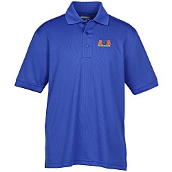 View a larger, more detailed picture of the Newport Polyester Mesh Polo - Men s