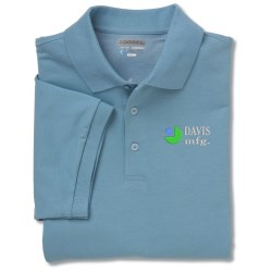 View a larger, more detailed picture of the Meshback Dri-Balance Polo - Men s