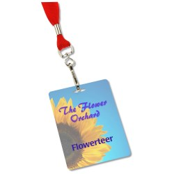 View a larger, more detailed picture of the Lanyard Card - 4 x 3
