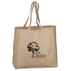 View a larger, more detailed picture of the Laminated Paper Shopping Tote - Closeout