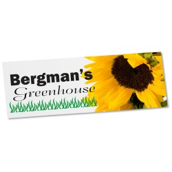 View a larger, more detailed picture of the Removable Vinyl Bumper Sticker - 3-3 4 x 7-1 2 -Full Color