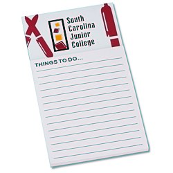 View a larger, more detailed picture of the Bic Business Card Magnet with Note Pad - Pens