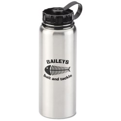 View a larger, more detailed picture of the Stainless Sport Bottle - 34 oz