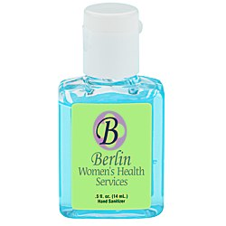 View a larger, more detailed picture of the Hand Sanitizer - Tinted - 1 2 oz