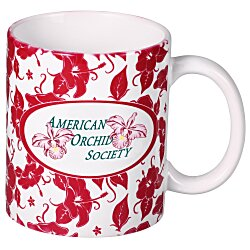 View a larger, more detailed picture of the Hawaiian Red Designer Mug - 11 oz